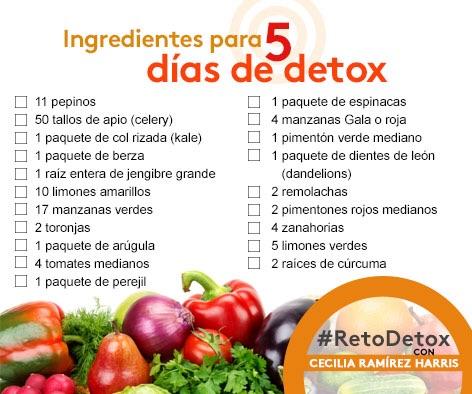 Lleg 243 La Hora De Prepararnos Para El Retodetox 2015