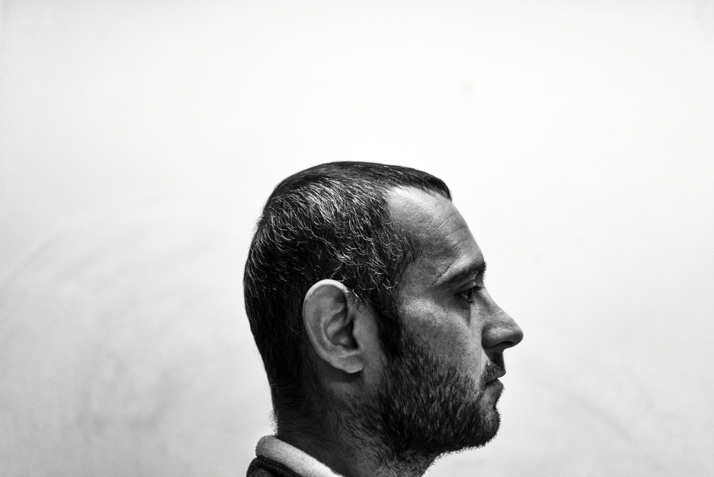 "Mahdi (30) left Iran and spent few months in Turkey where he ended imprisoned for working illegally. Now in Athens he feels trapped ""I need money to pay smugglers to cross to Macedonia"". As the european migration laws changed, smuggling is the only valid option to reach Germany for him. Athens, Greece, January 2016."