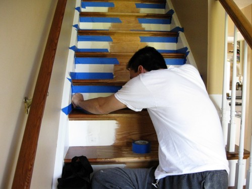 Refinishing And Re Screening Your Hardwood Stairs