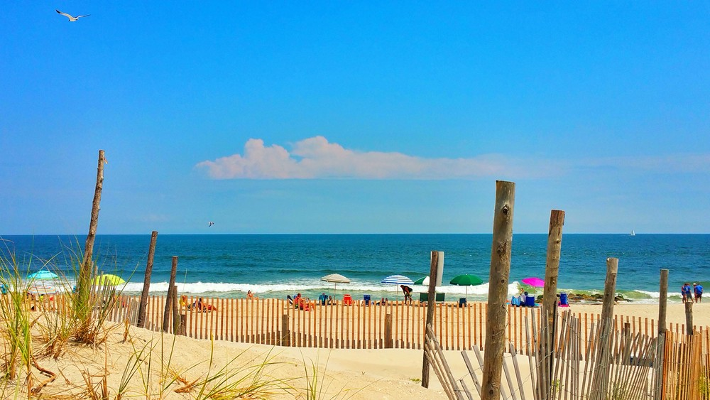 Bright Beach Day