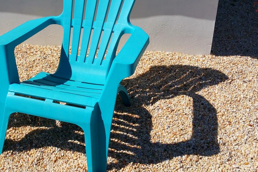 Sunny Blue Seat