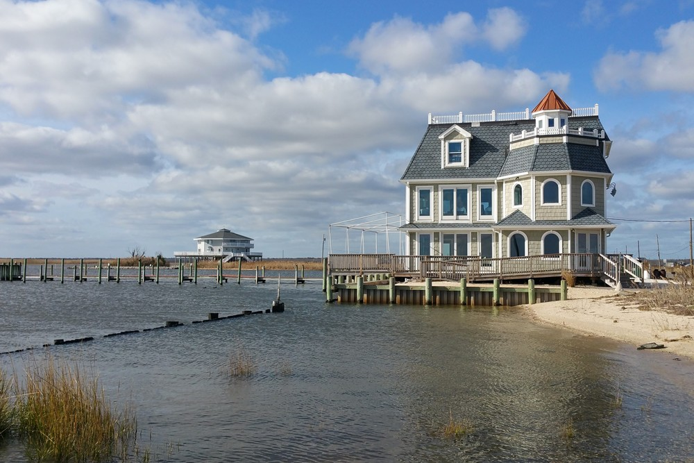 Bay Front Houses