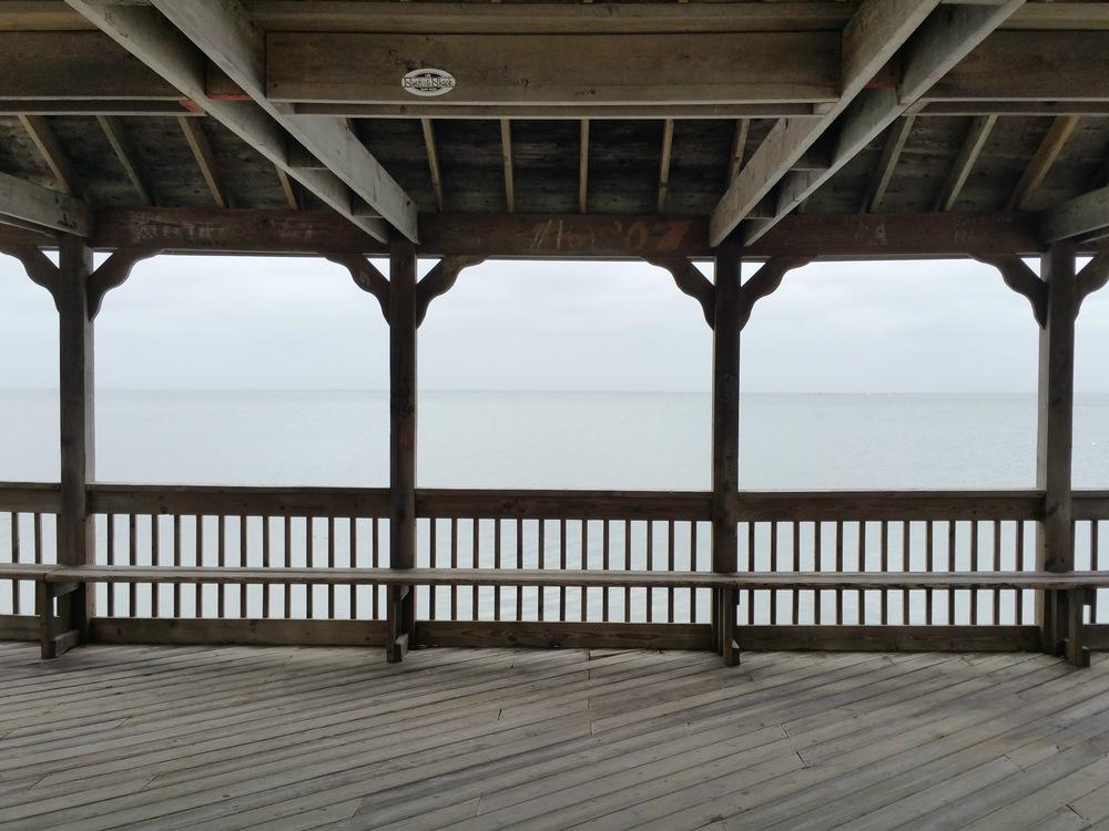 Overcast Pavilion