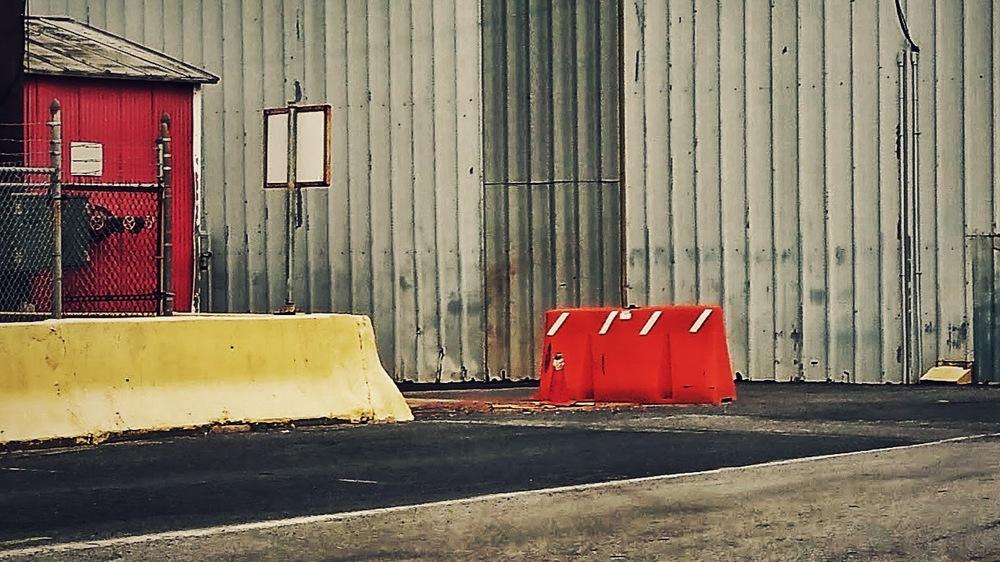 Orange Barricade