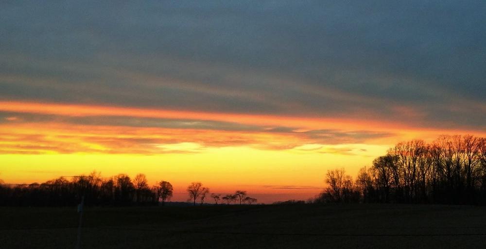 Sunset 12/7