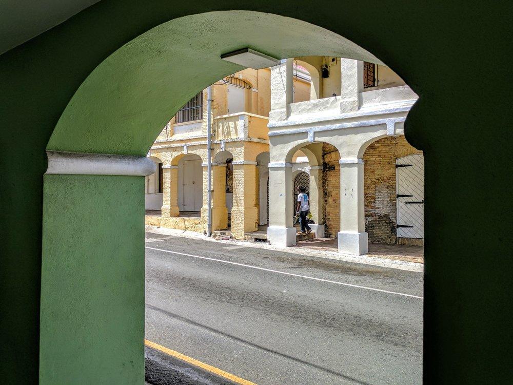 Through a Green Arch