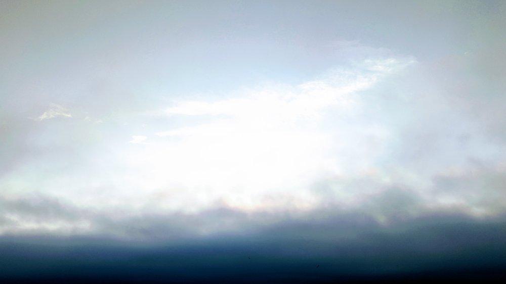 Above the Cloudy Horizon