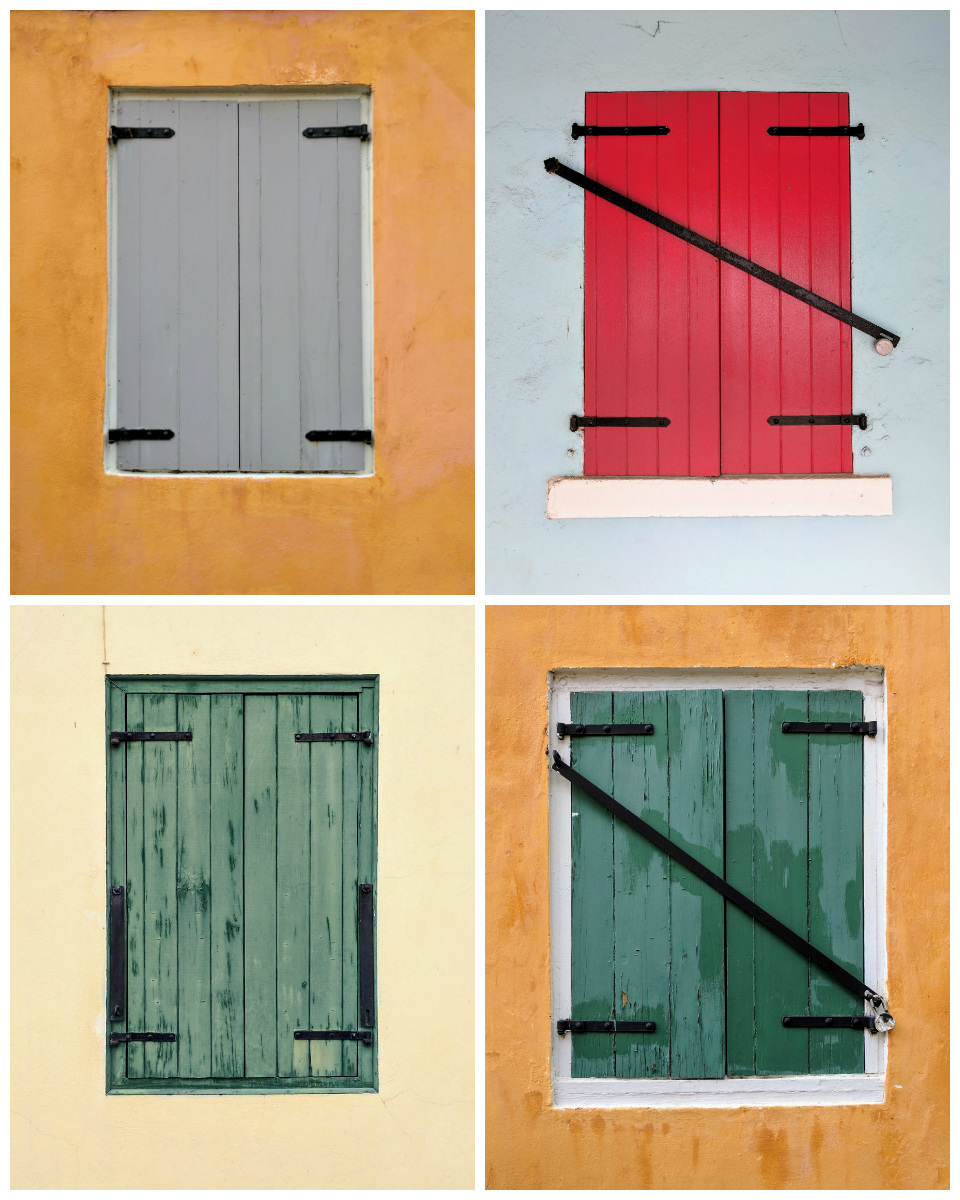 Four Different Shutters