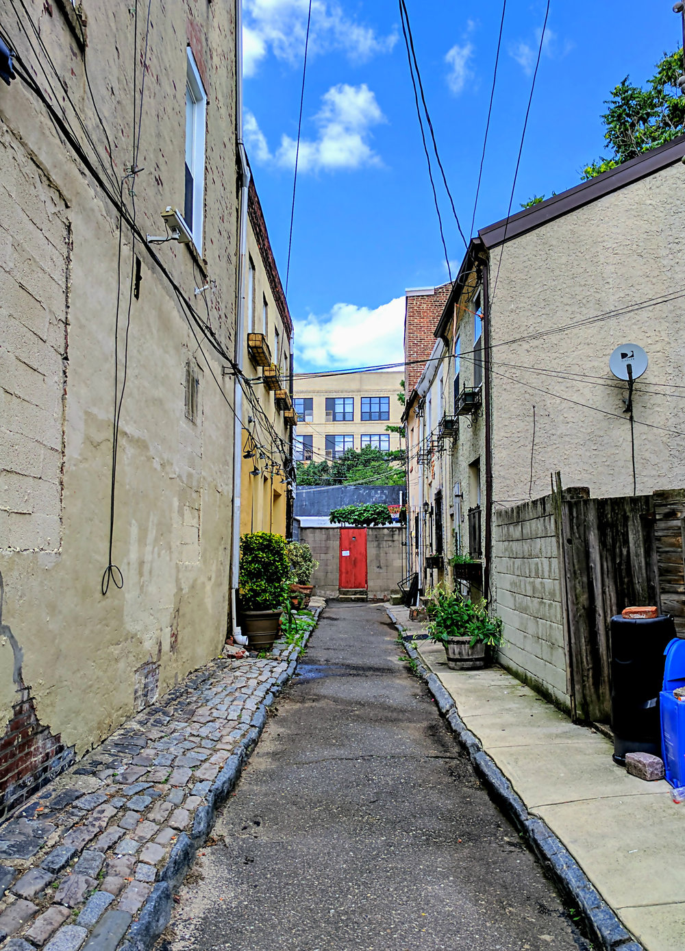 Red Door at the End