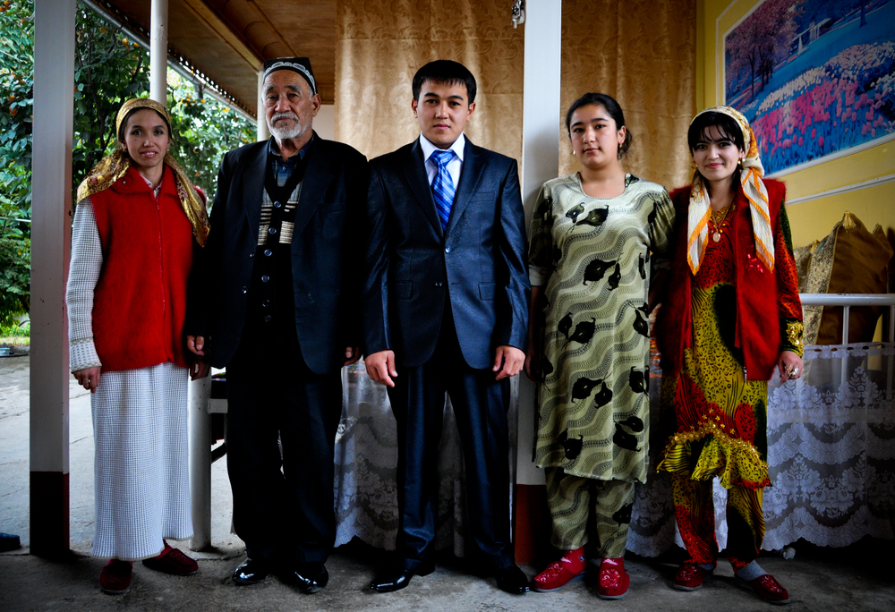 Uzbek Wedding Portrait