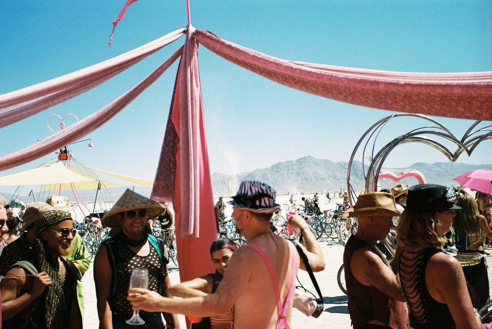 Burning Man 2014   Camera: Canon 300V || Film: expired DM Goldparadies