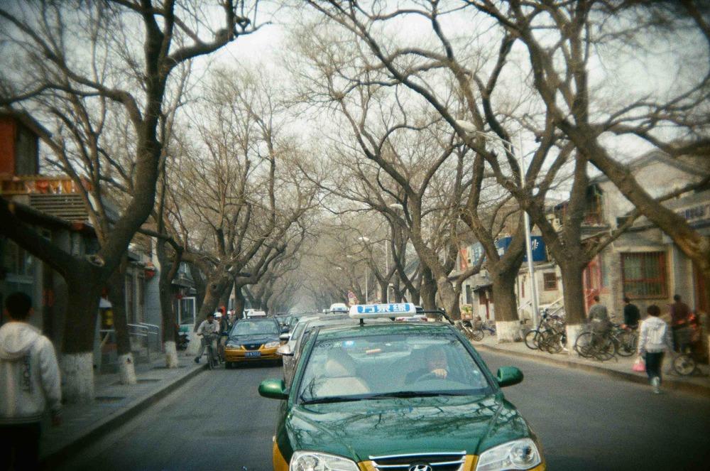 Beijing, China - March 2014 camera:Holga || film:DMGoldparadies - 400 ASA