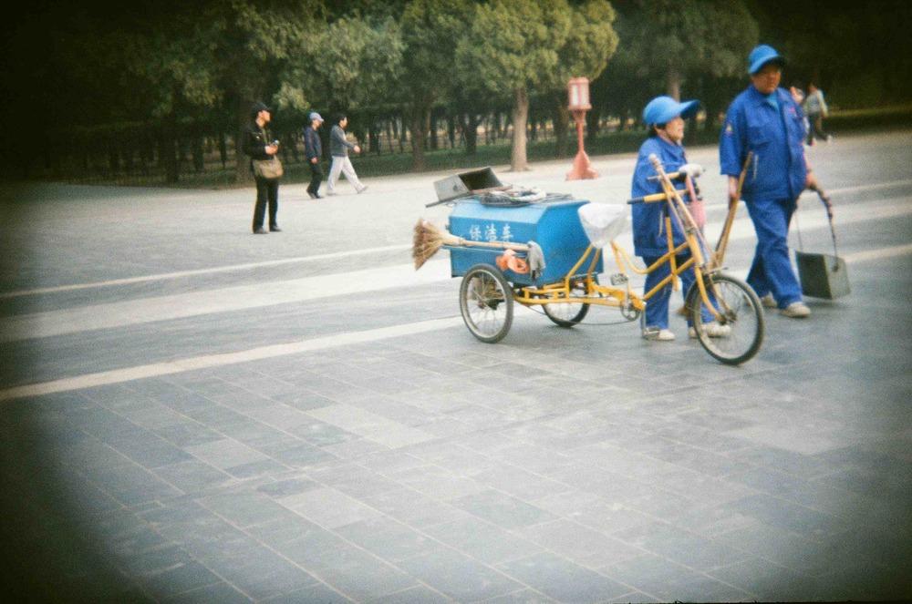Beijing, China - March 2014   camera:  Holga || film:  DM  Goldparadies - 400 ASA