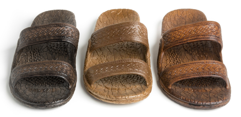 Classic Jandals® - Dark Brown, Brown, Light Brown and Black.