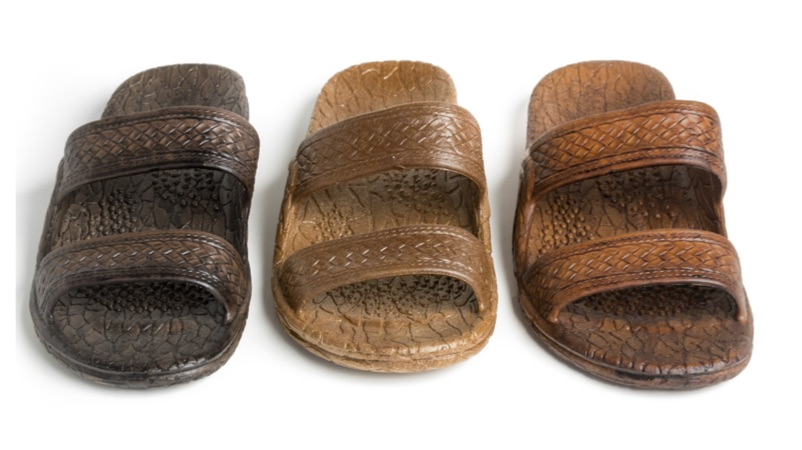 Classic Jandals - Dark Brown, Brown, Light Brown and Black.