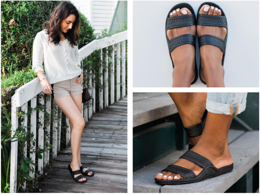 Classic Jandal in Black