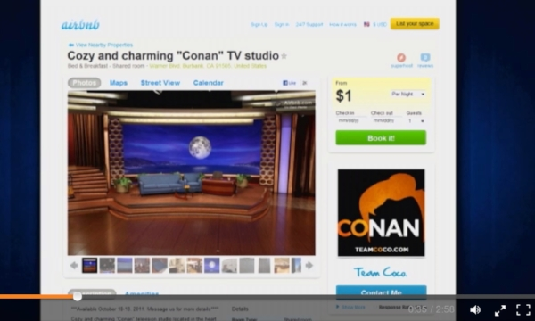 Conan - customer experience - marketing - airbnb