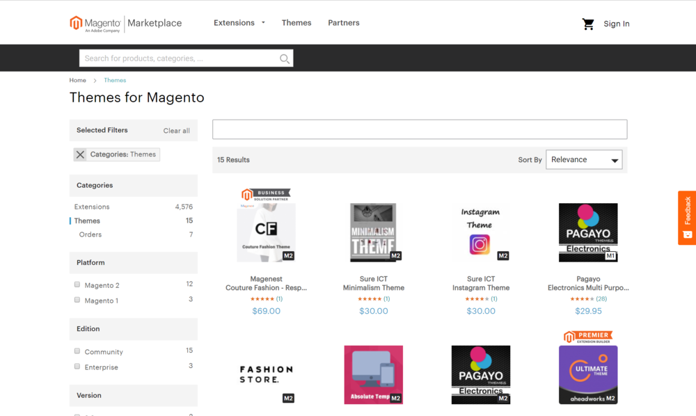 Magento themes CX Shift تصميم متجر الكتروني قوالب ماجينتو.png