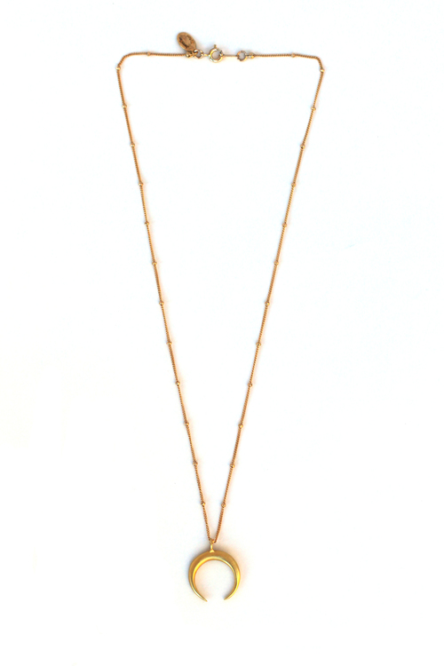 nakd accessories kd chain necklace com en double crescent na structured gold