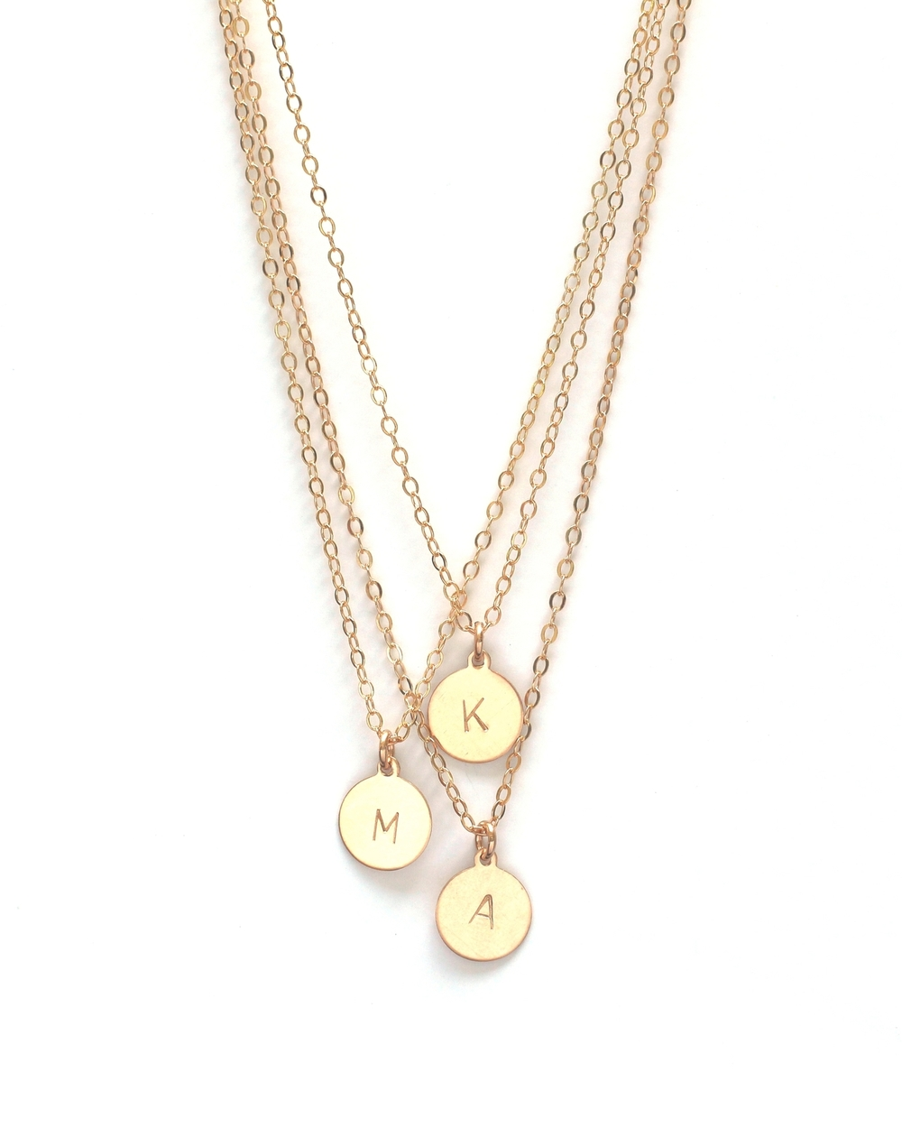 THE Initial Necklace $65