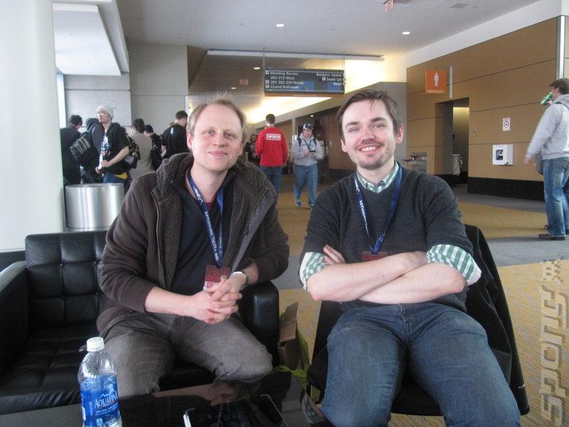 Jon Ingold (left) and Joe Humfrey (right)