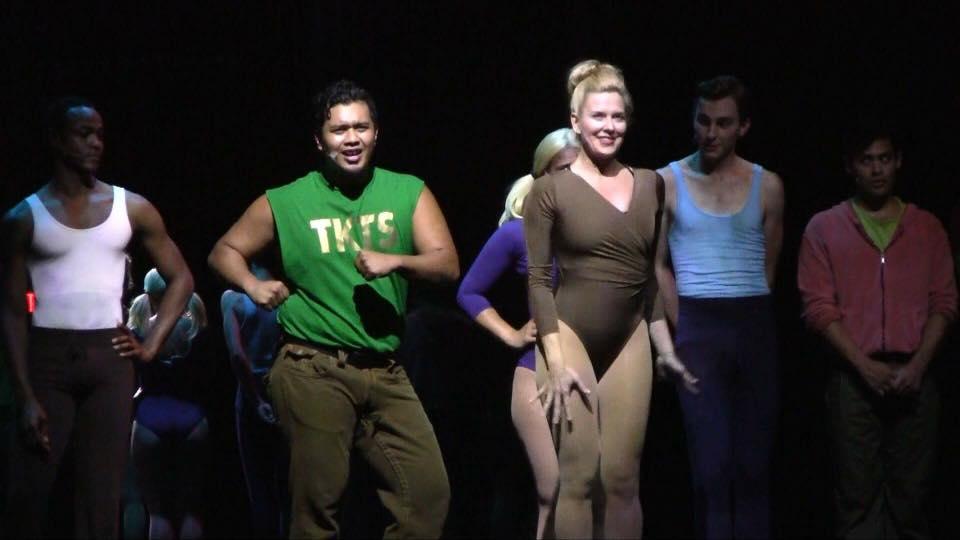 Halstead as Kristine in  A Chorus Line