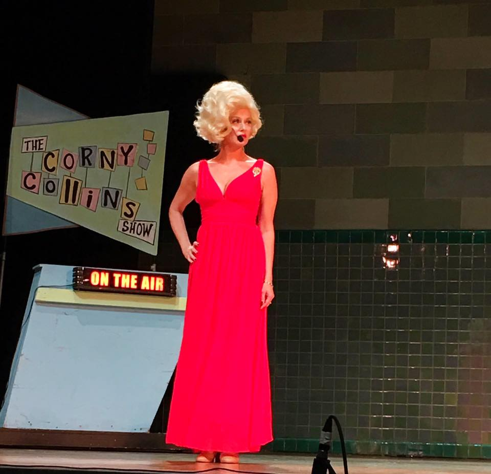 Halstead as Velma Von Tussle in  Hairspray