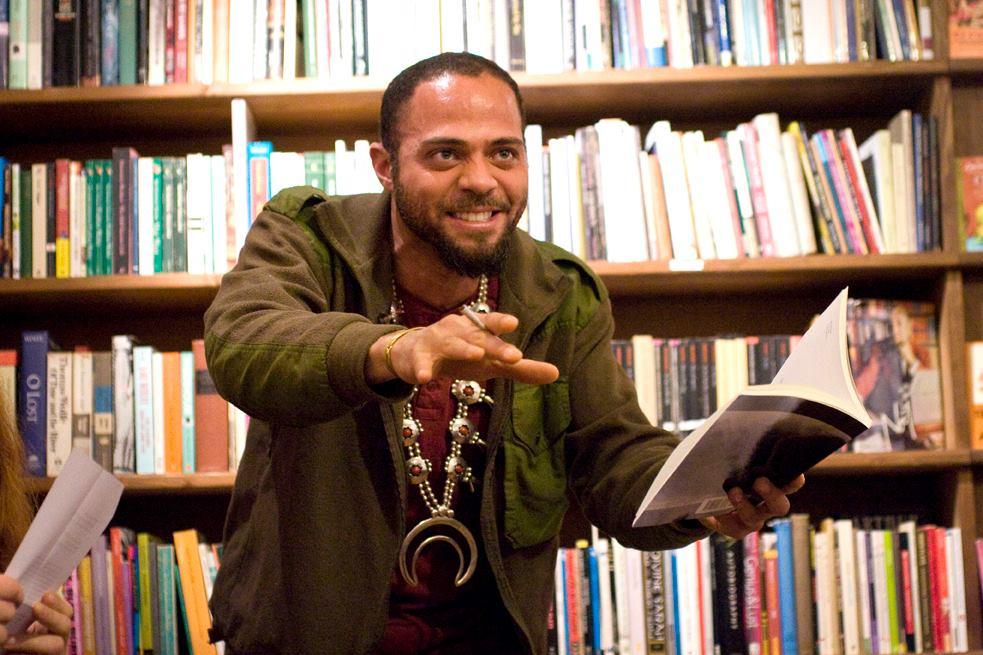 Malik at Poets Live, pic by Sabine Dundure.jpg