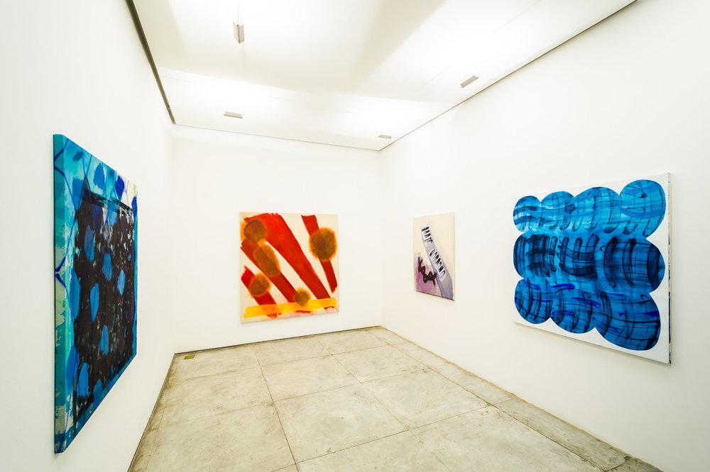 Installation at 'Resíduos de um Ritmo' at Marcus Soska, Rio de Janeiro 2016