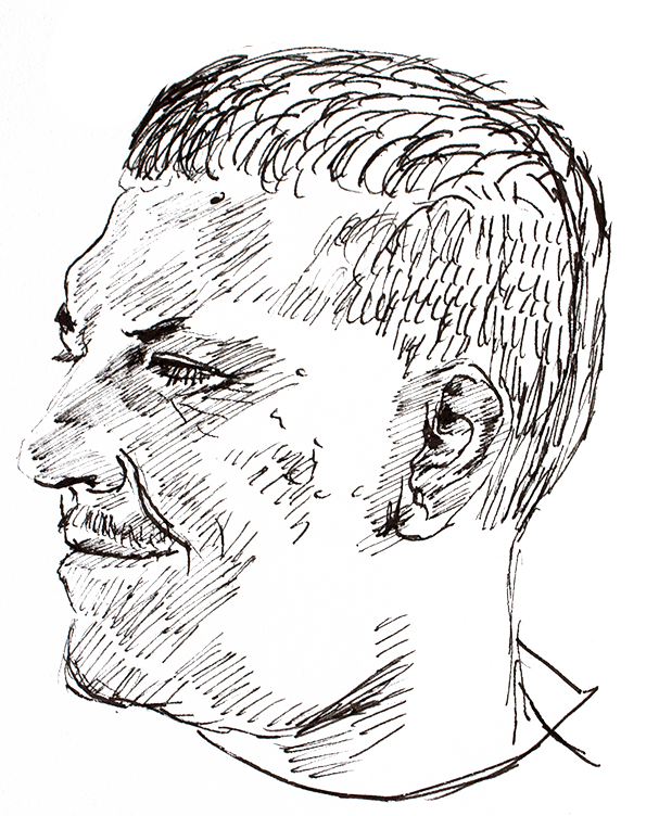 Author portrait by  Arthur Johnstone