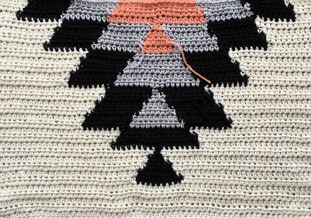Modern Craft Workshop How To Make An Intarsia Crochet Blanket