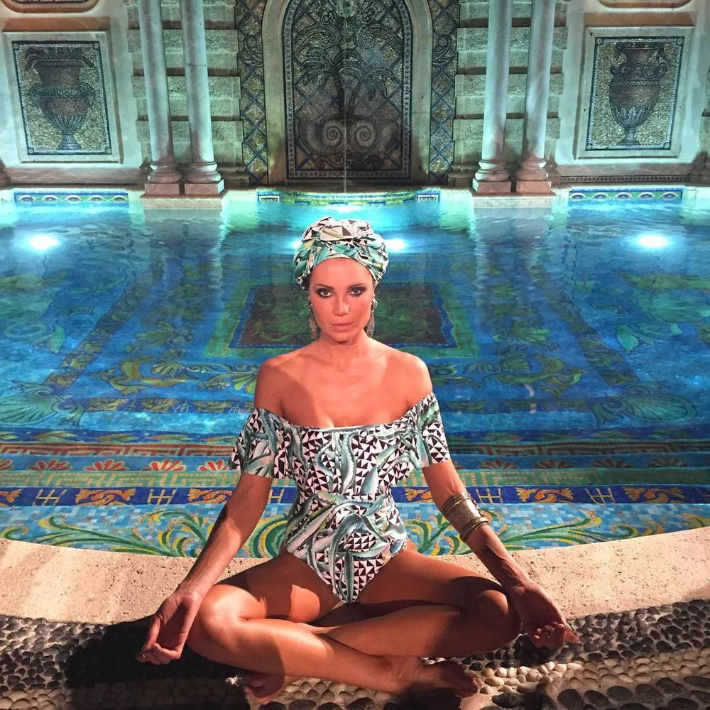Mara Hoffman presentation at Versace Mansion