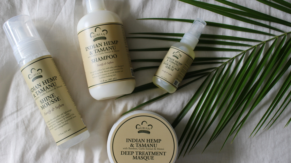 Nubian Heritage organic eco friendly hair care cruelty free