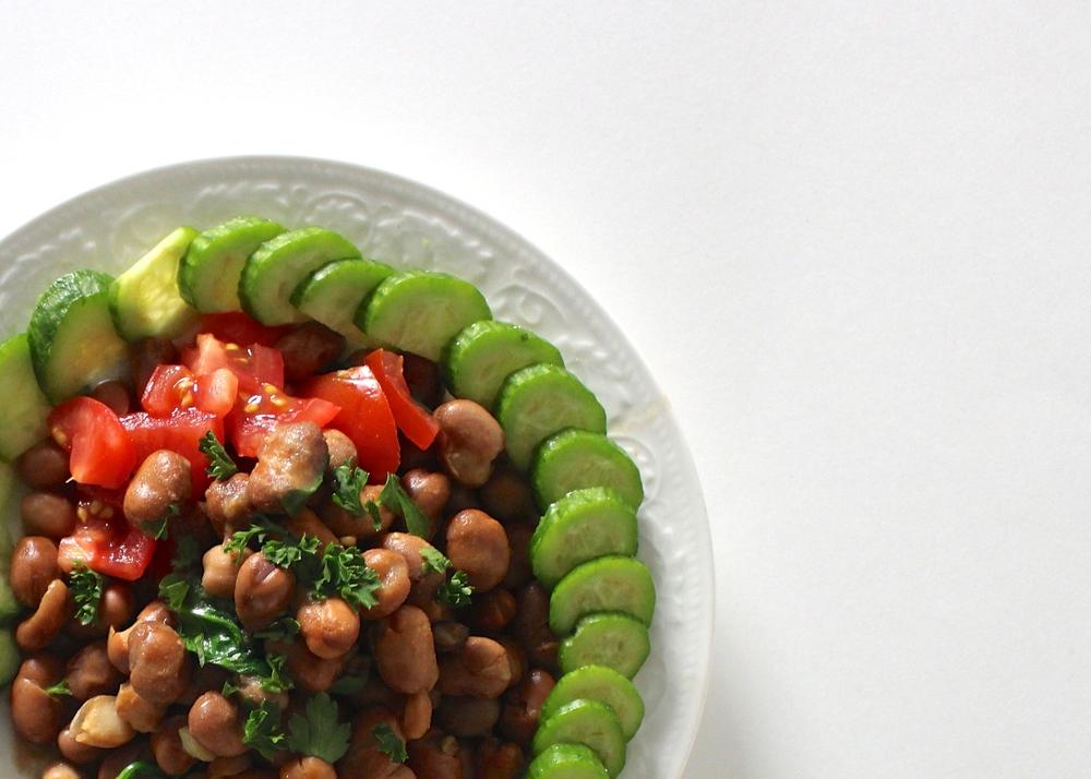 Foul Madammas Fava beans recipe vegan gluten free breakfast Middle Eastern