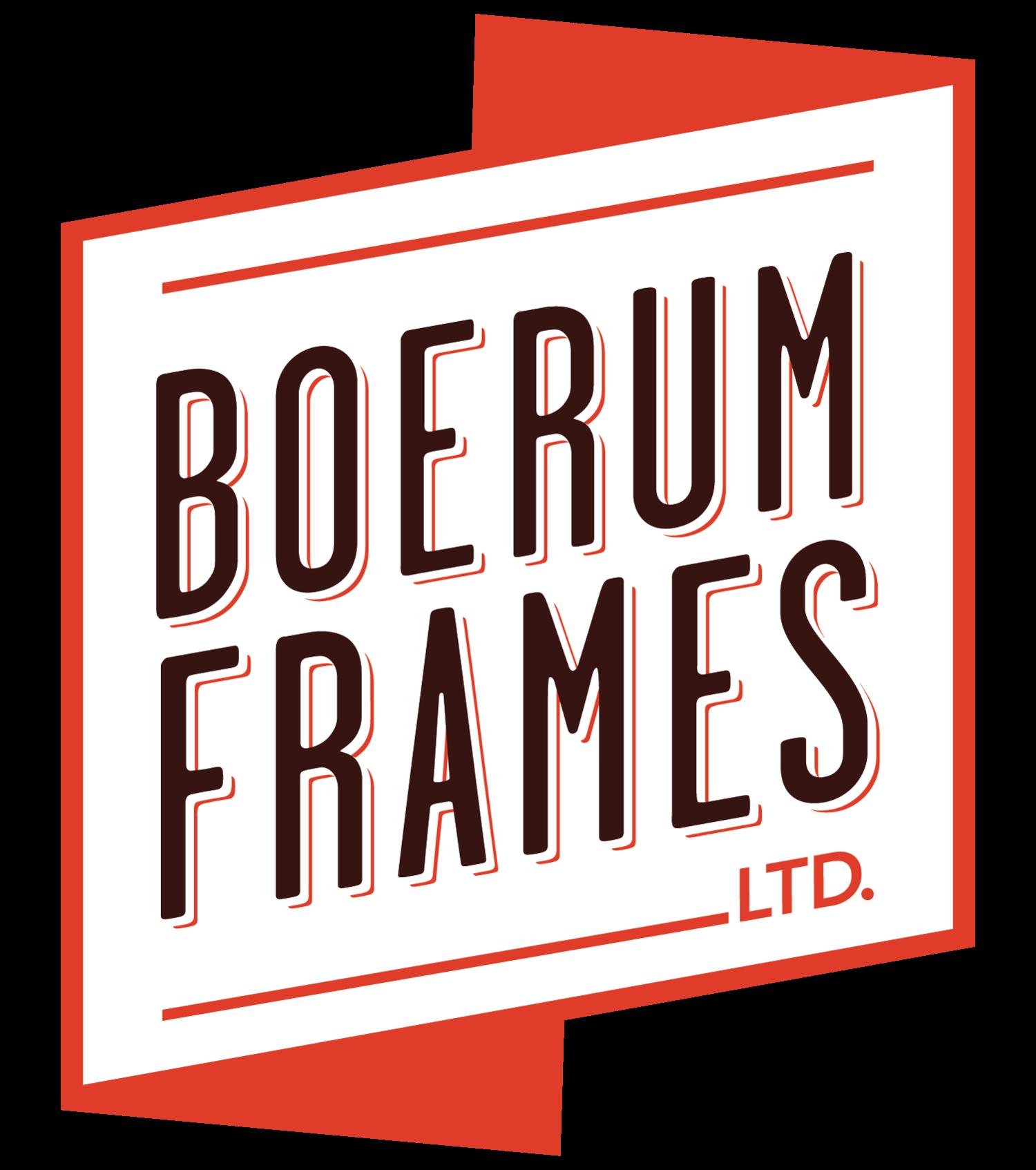 Framing — Boerum Frames