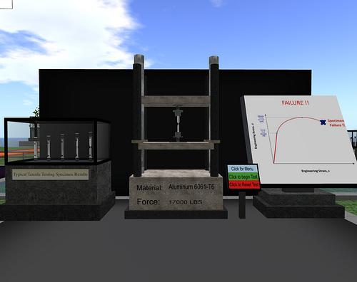 Tensile Tester Simulation