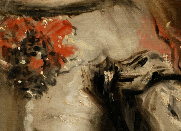 Close up of Las Meninas by Velazquez