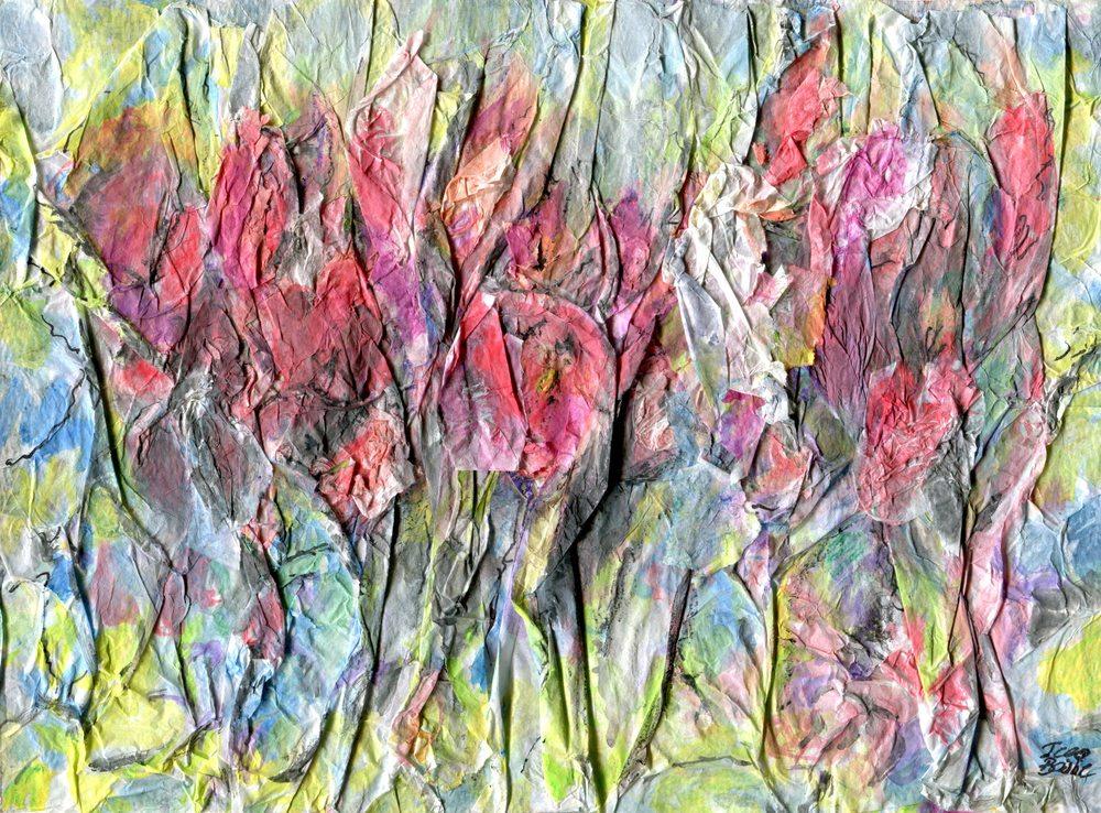 Bailie, Jean 73a  Dance, Crayon on paper