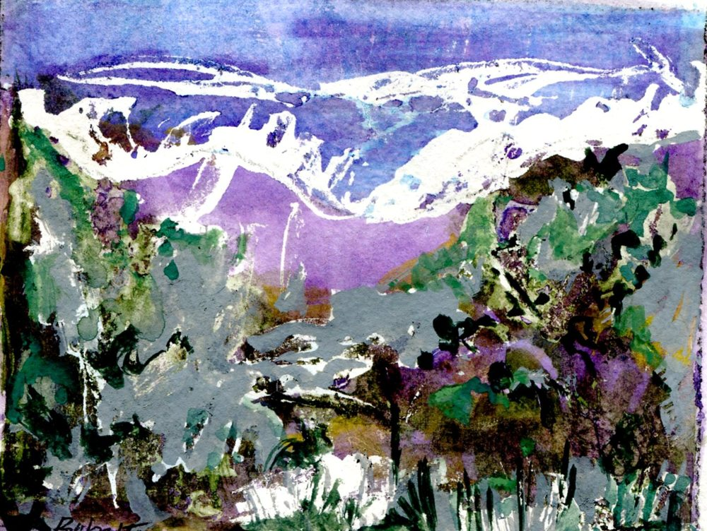 Fitzgerald, Babette 31b Valley, Water-colour.