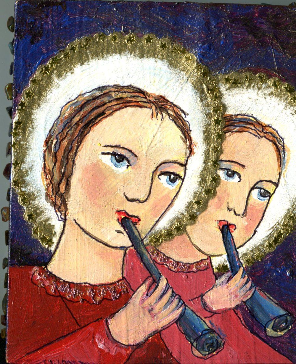 Groenewald, Liesbeth  8a1            Doublesided Triptych.
