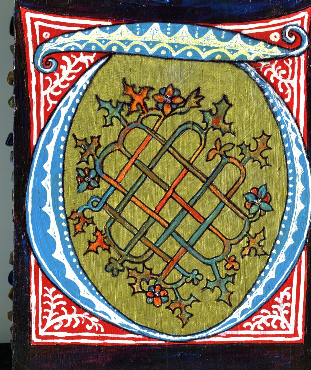 Groenewald, Liesbeth 8a2 (verso)Doublesided Triptych.