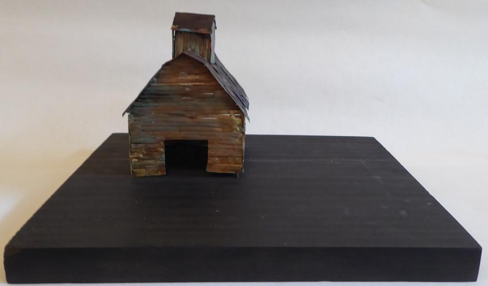 Gush, David  62b Illinois Barn, Copper.