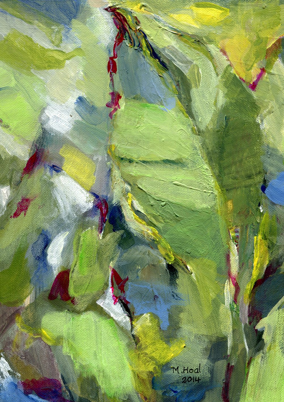 Hoal, Margaret 19a Vegetation, Acrylic on board.jpg