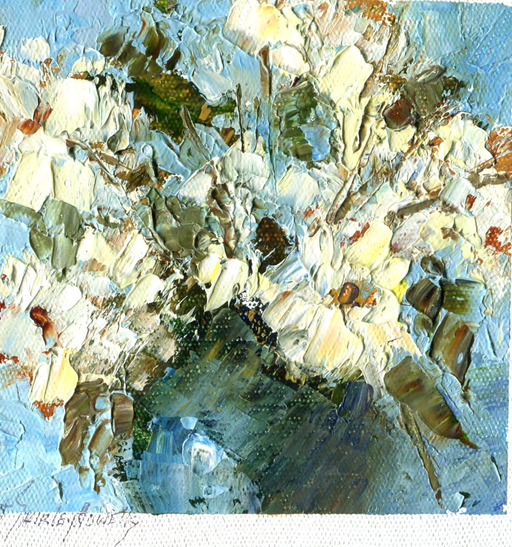 Howells, Shirley 28  Vase of Flowers, Oil on canvas.
