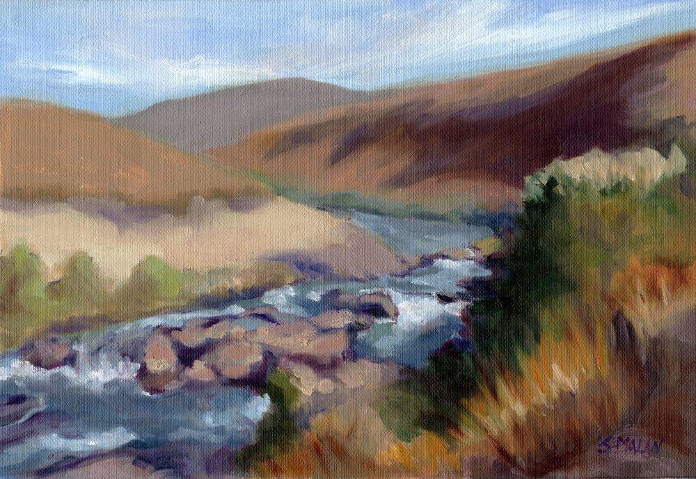Malan, Susan      29 Winter Valley, Oil on canvas.