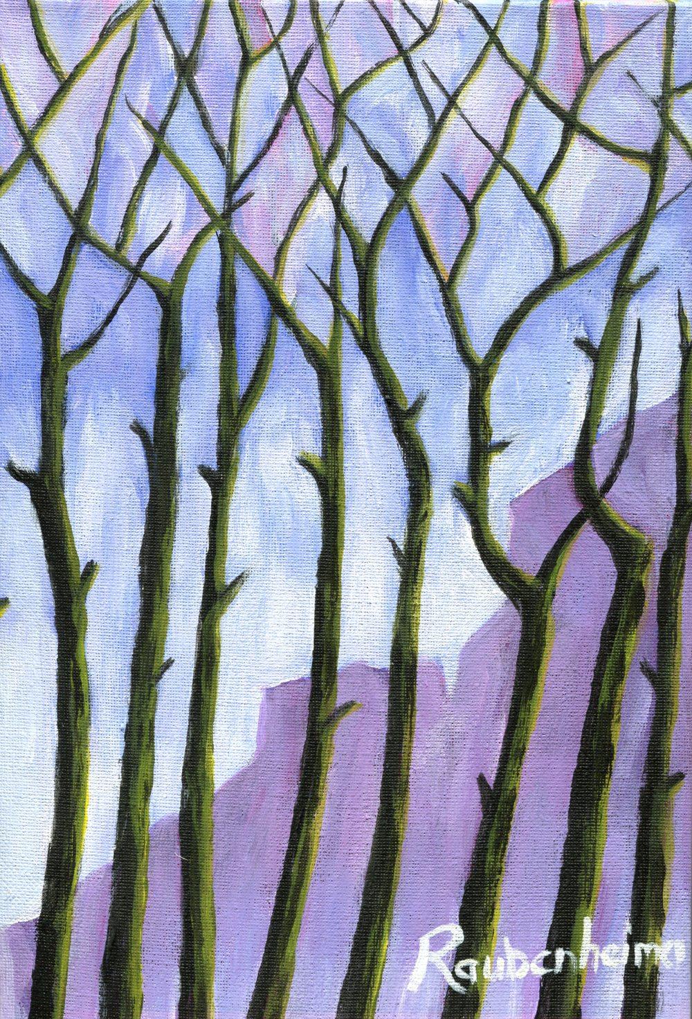Raubenheimer, Anne  70b Cape Memories, Acrylic on canvas.