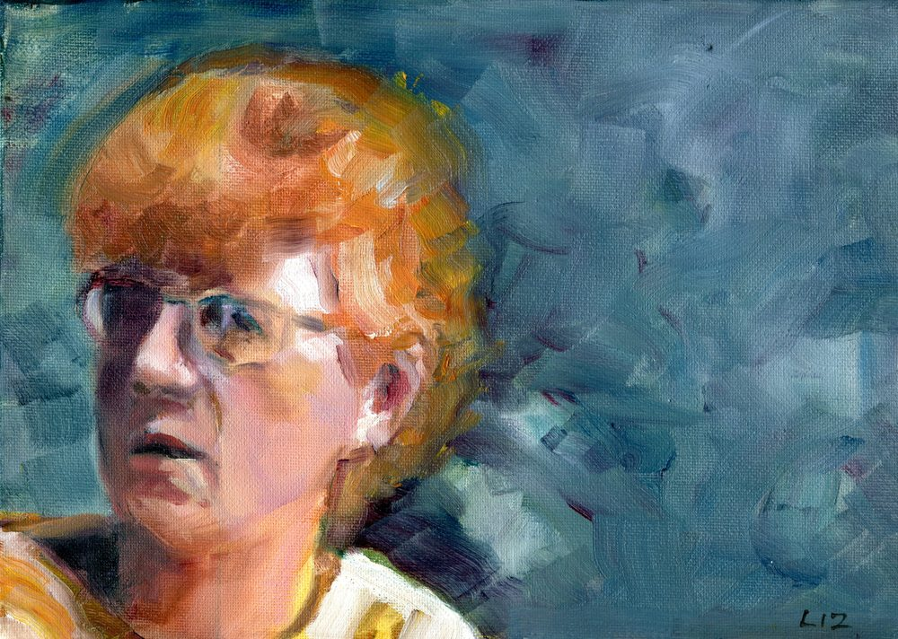 Speight, Elizabeth 38a Annette, Oil on canvas.