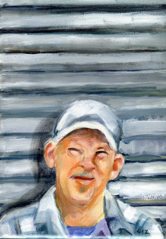 Speight, Elizabeth 38b Lloyd, Oil on canvas.