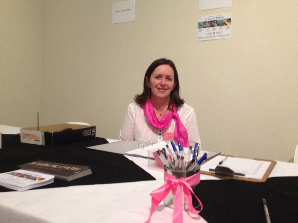 Friendly Gallery and FOTAG staff are on hand to help-  they will be wearing something very pink!