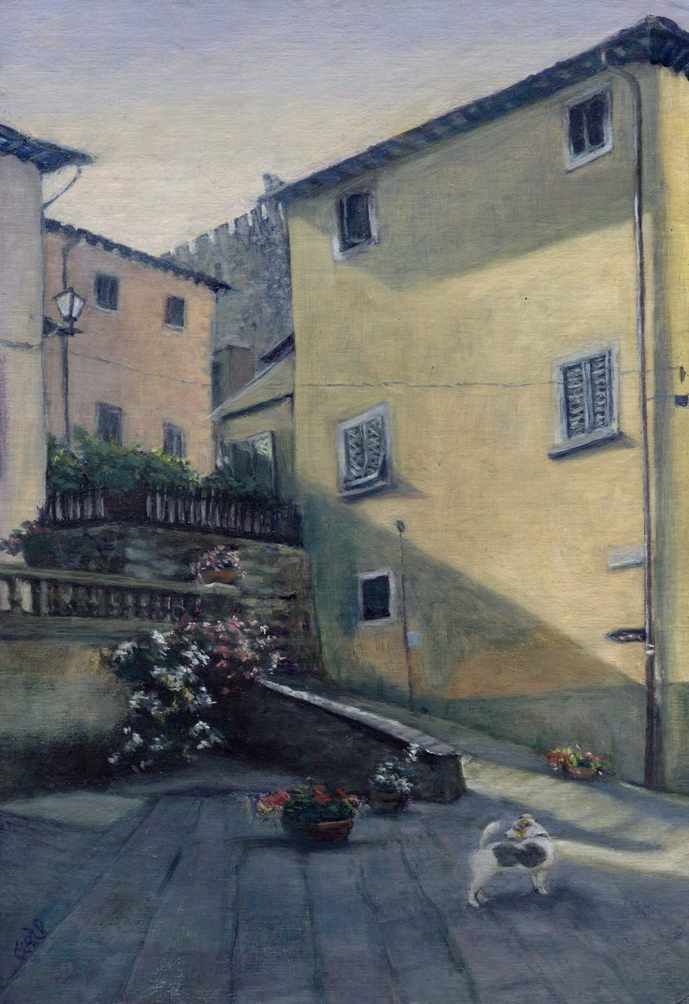 5b Gail Peckham -Duke goes to Italy